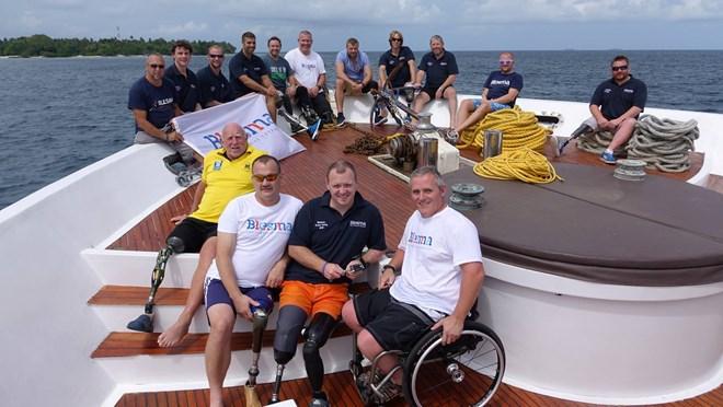 Blesma funded trip to Key Largo Florida